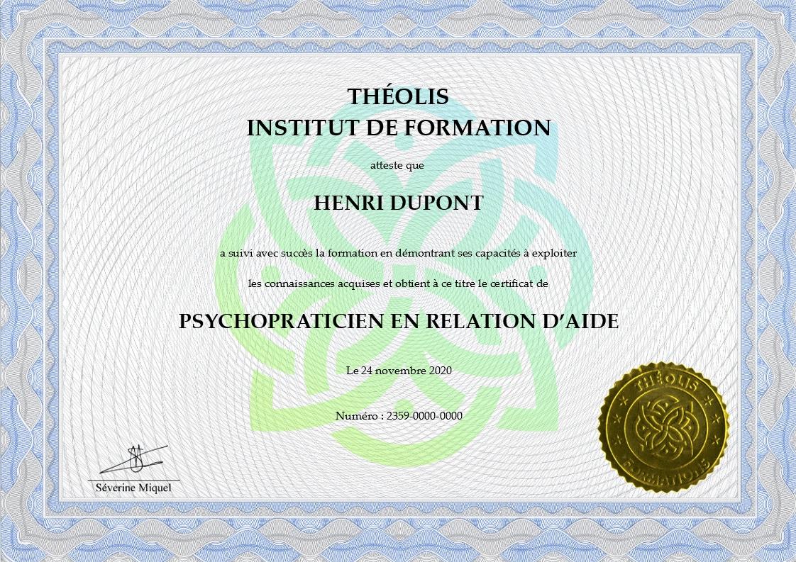Certificat NUMERIQUE (Séverine) - Fondamentaux accompagnement